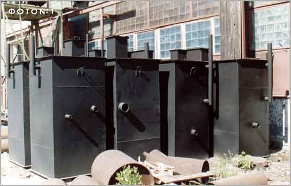 установки очистки ливневых сточных вод на складе в наличии