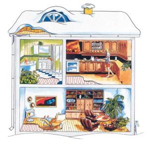 Автономное отопление частного дома от ООО «Волго-Вятский Центр Очистки Воды»